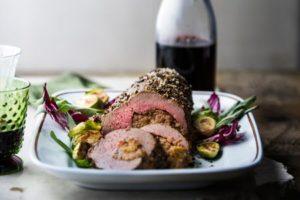 beef-tenderloin-wine