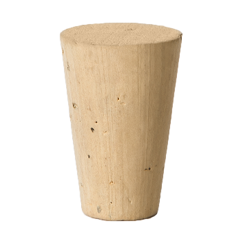 CONICAL/TAPERED NATURAL CORK STOPPER