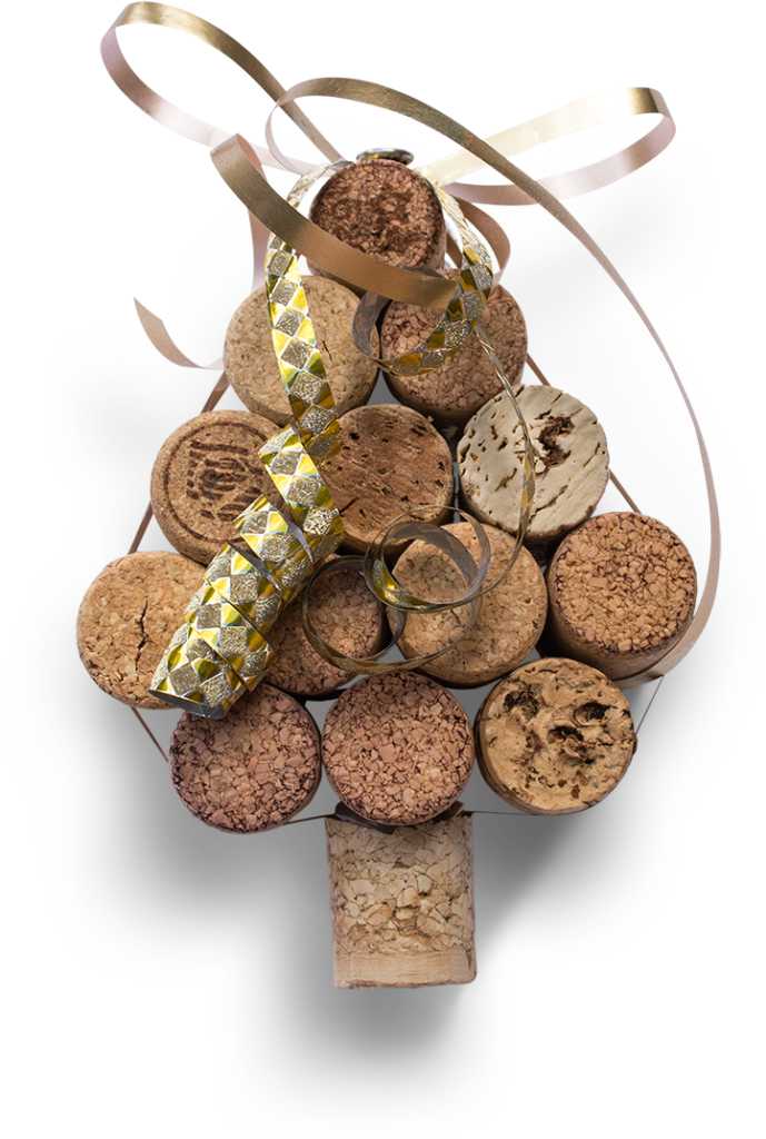 natural cork stopper